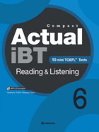 Compact Actual iBT Reading & Listening 6
